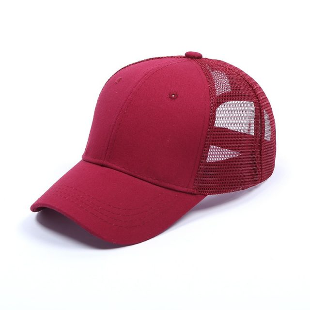 Breathable Mesh Unisex Sports Cap