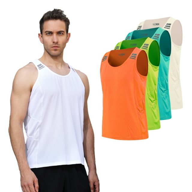 Men's Striped Detail Sports Tank Top